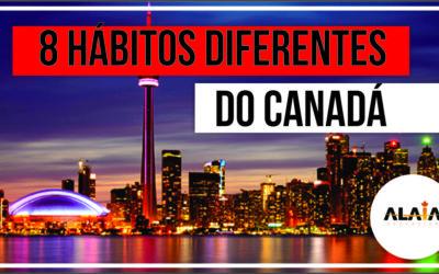 8 Hábitos diferentes no Canadá